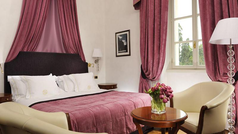 Deluxe Room at Castello dal Pozzo in Oleggio Castello, Italy
