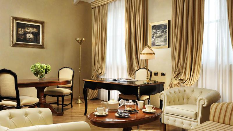 Signature Suite Alberto at Castello dal Pozzo in Oleggio Castello, Italy