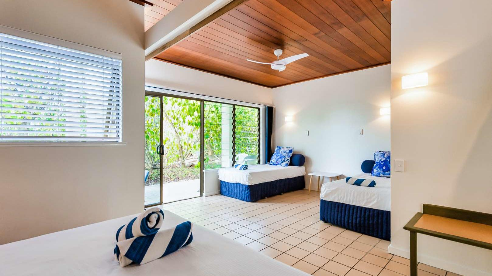 Reef Family Room at Heron Island Resort in Queensland, Australia