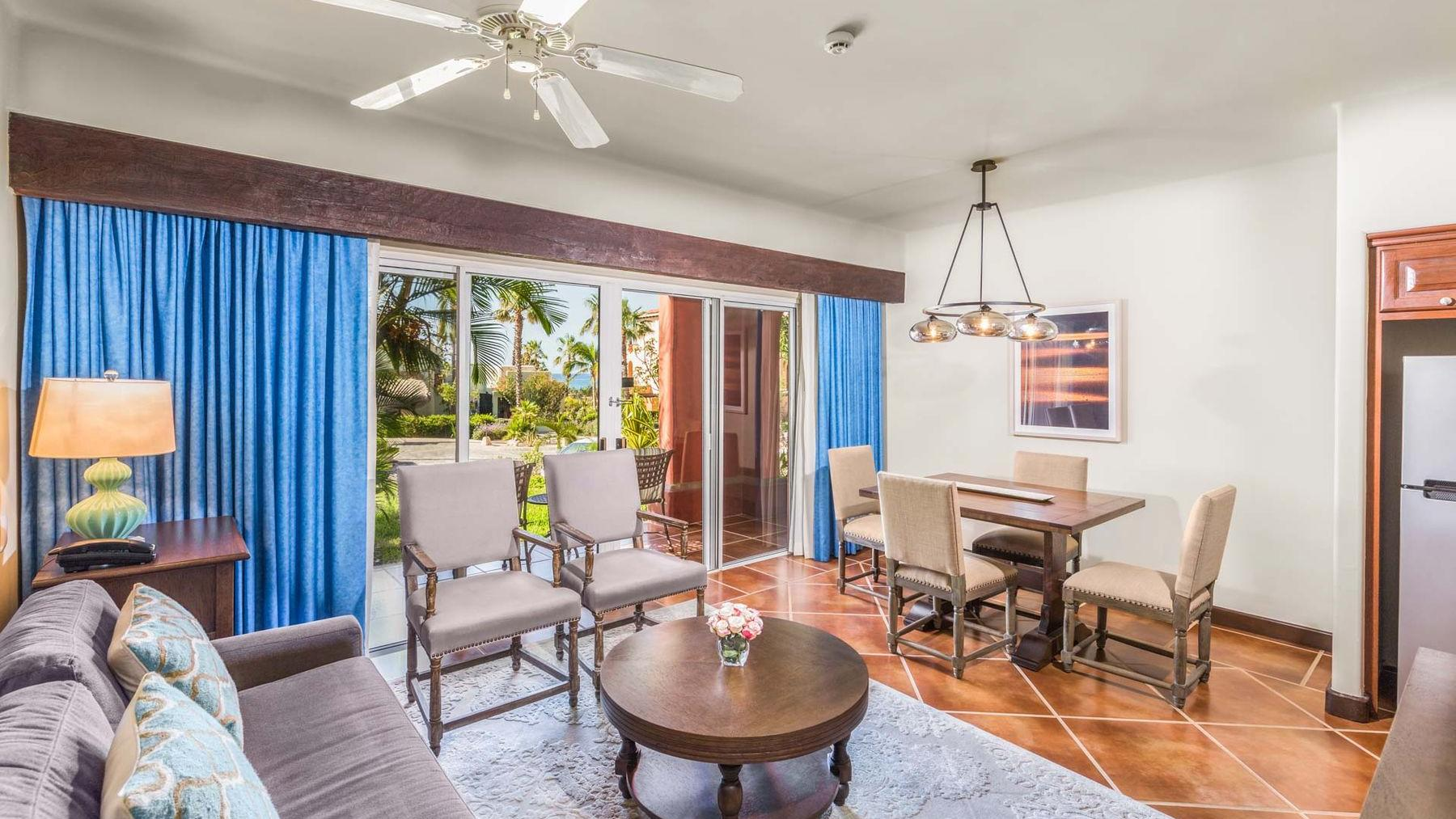Luxury Suite Living Area
