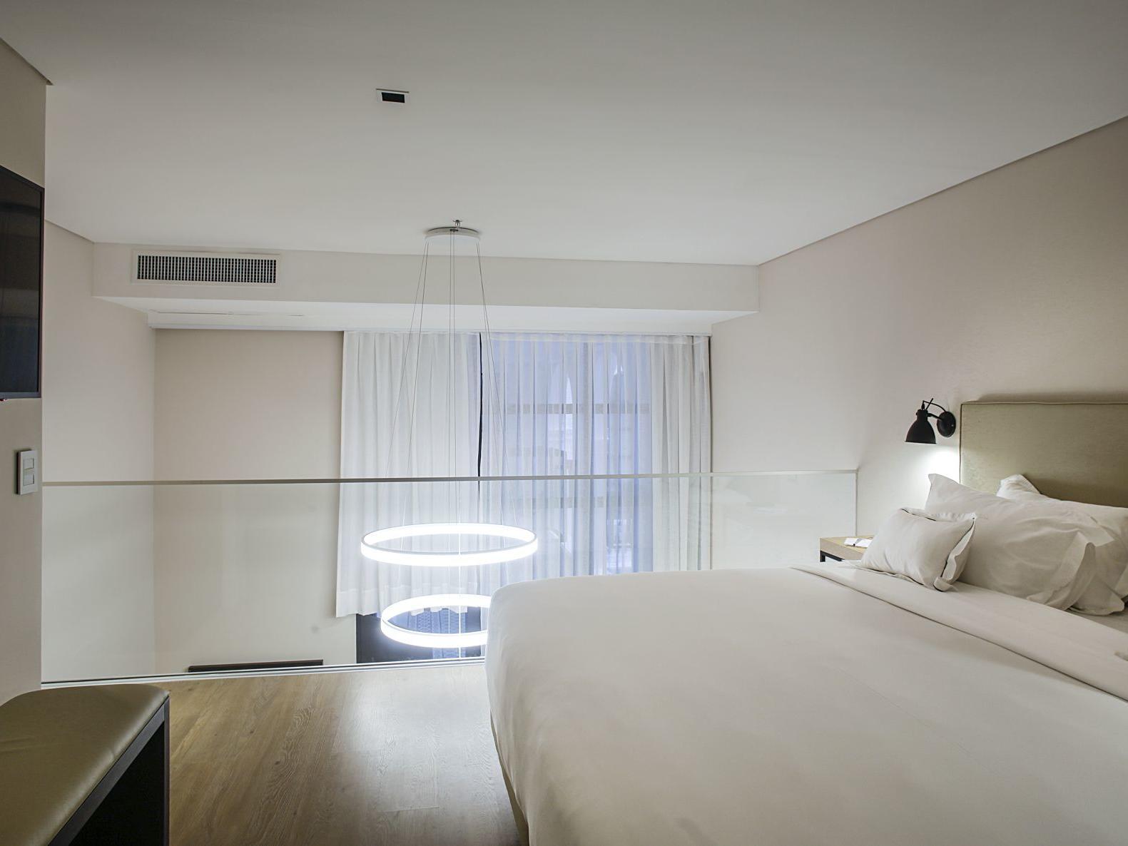 Duplex Sleeping Area