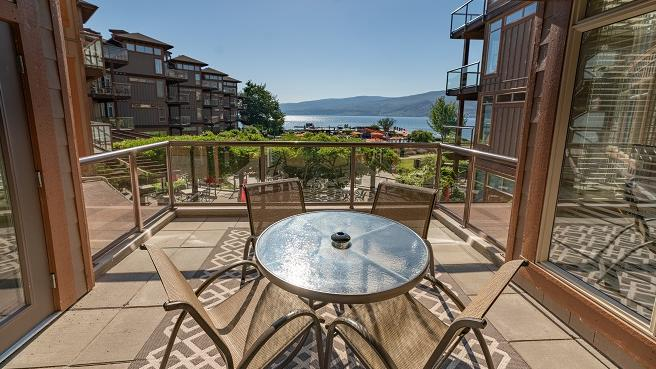 Two Bedroom suite Patio premium lakeview