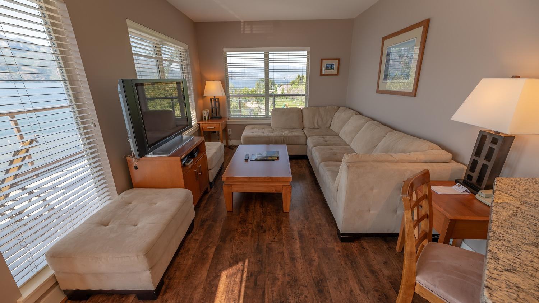 Three Bedroom suite living room