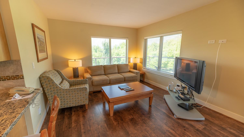 Three Bedroom suite living room mountain