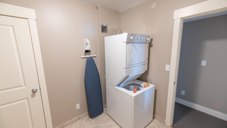 in suite laundry