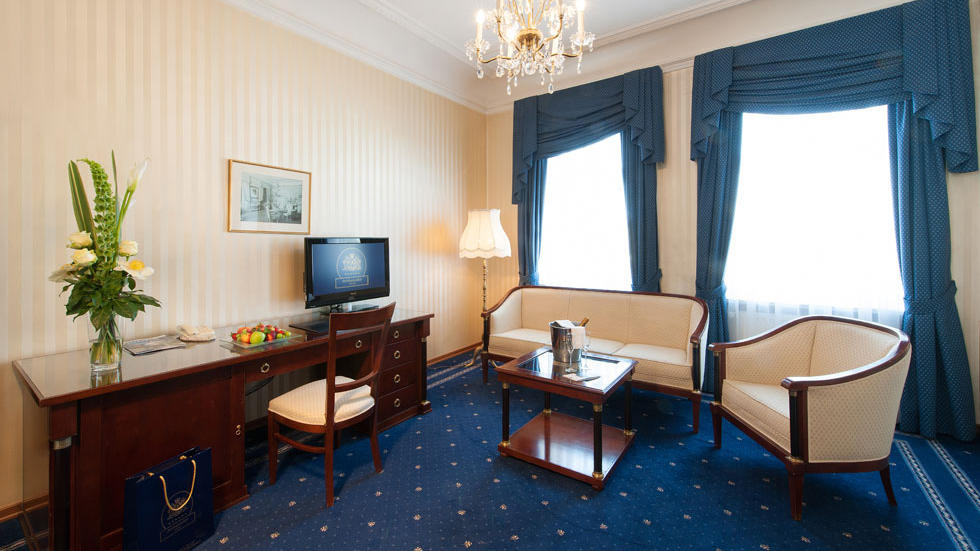Junior Suite at Ambassador Vienna Hotel