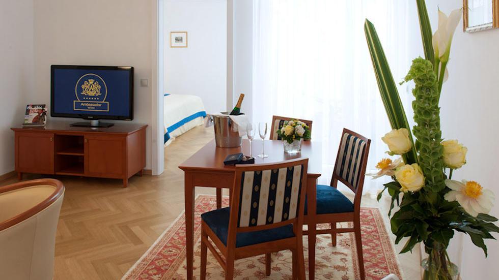 Apartment 602 at Ambassador Vienna Hotel
