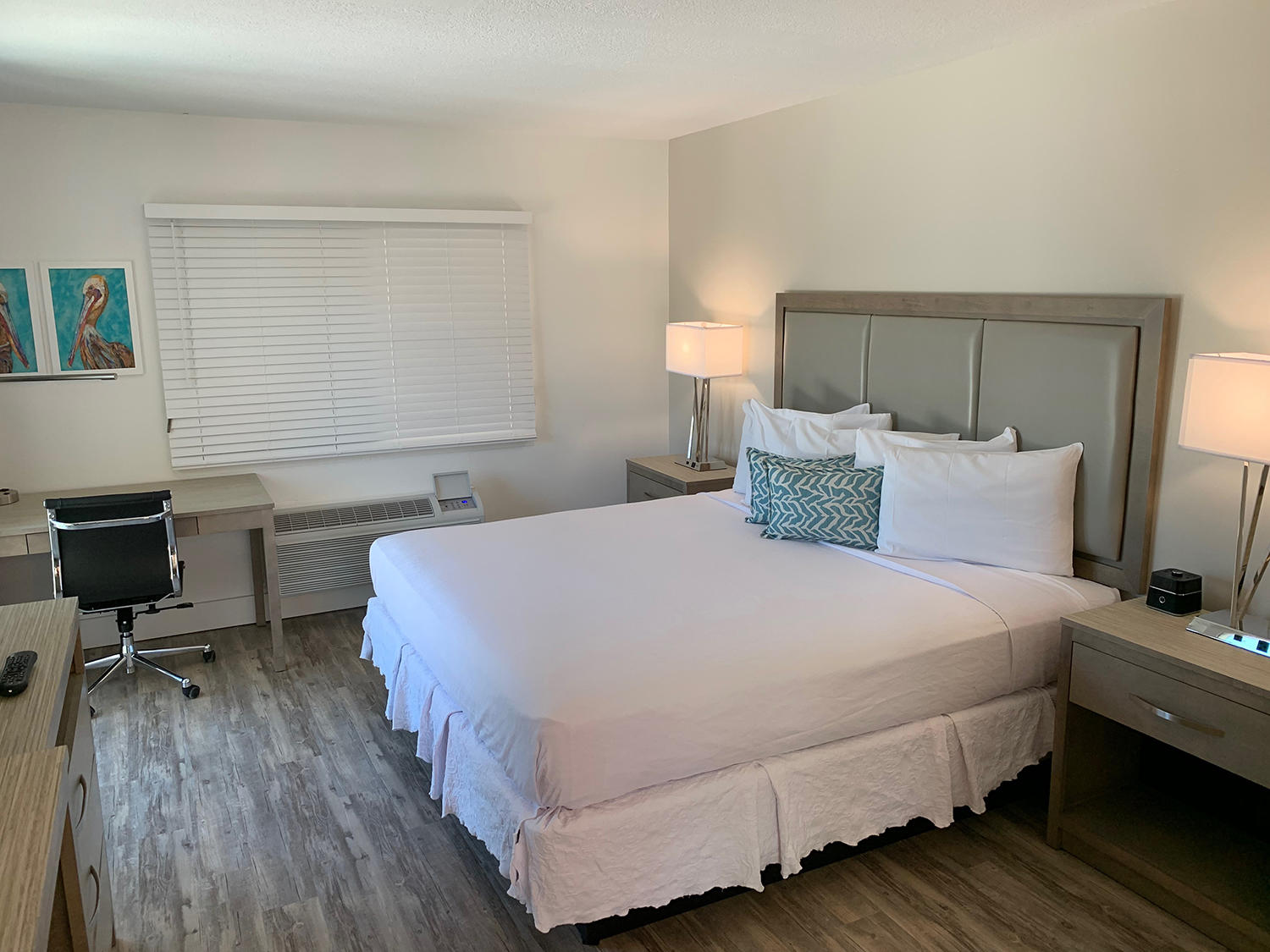 Bayview Suite Room with Juliette Balcony and King Bed