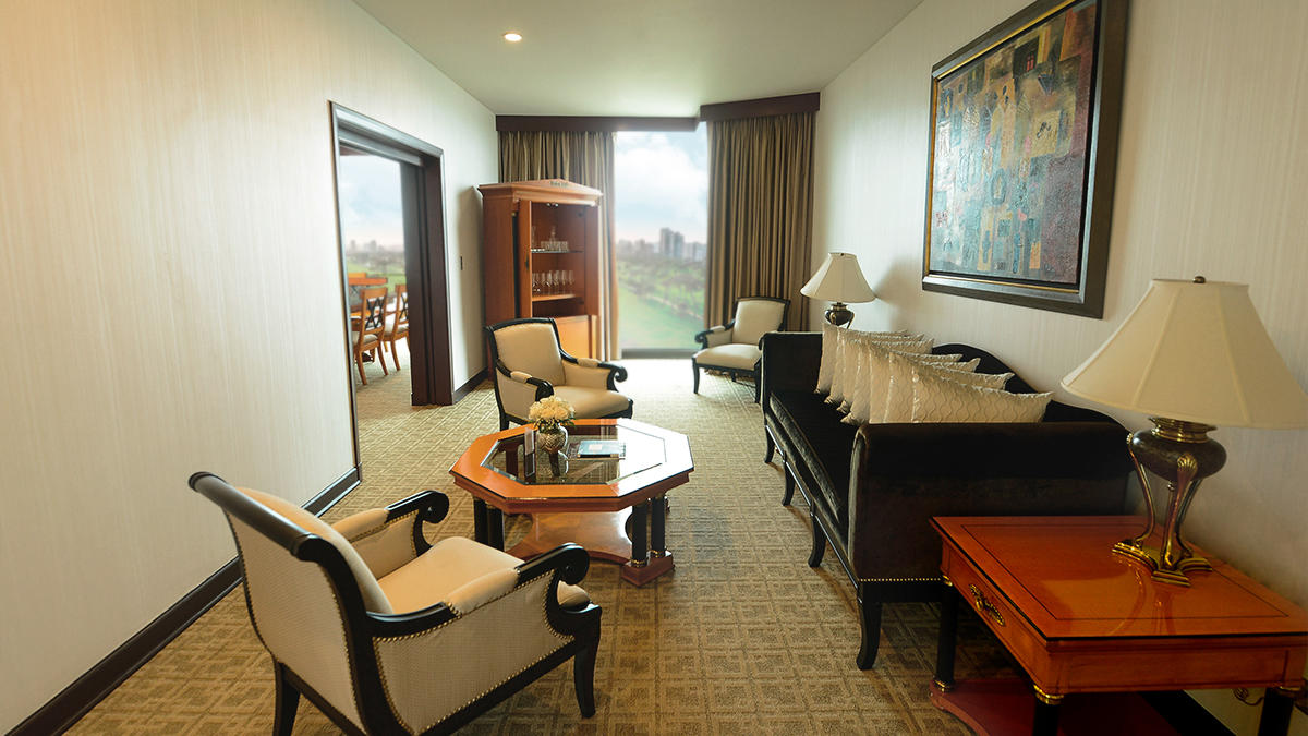 Presidential Suite - city view