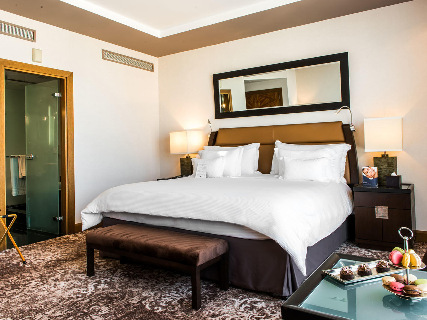 Deluxe Room at Kenzi Tower Hotel in Casablanca, Morocco