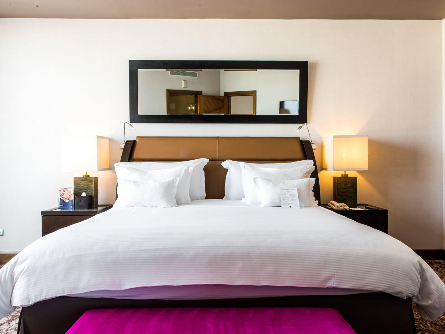 Premium Room at Kenzi Tower Hotel in Casablanca, Morocco