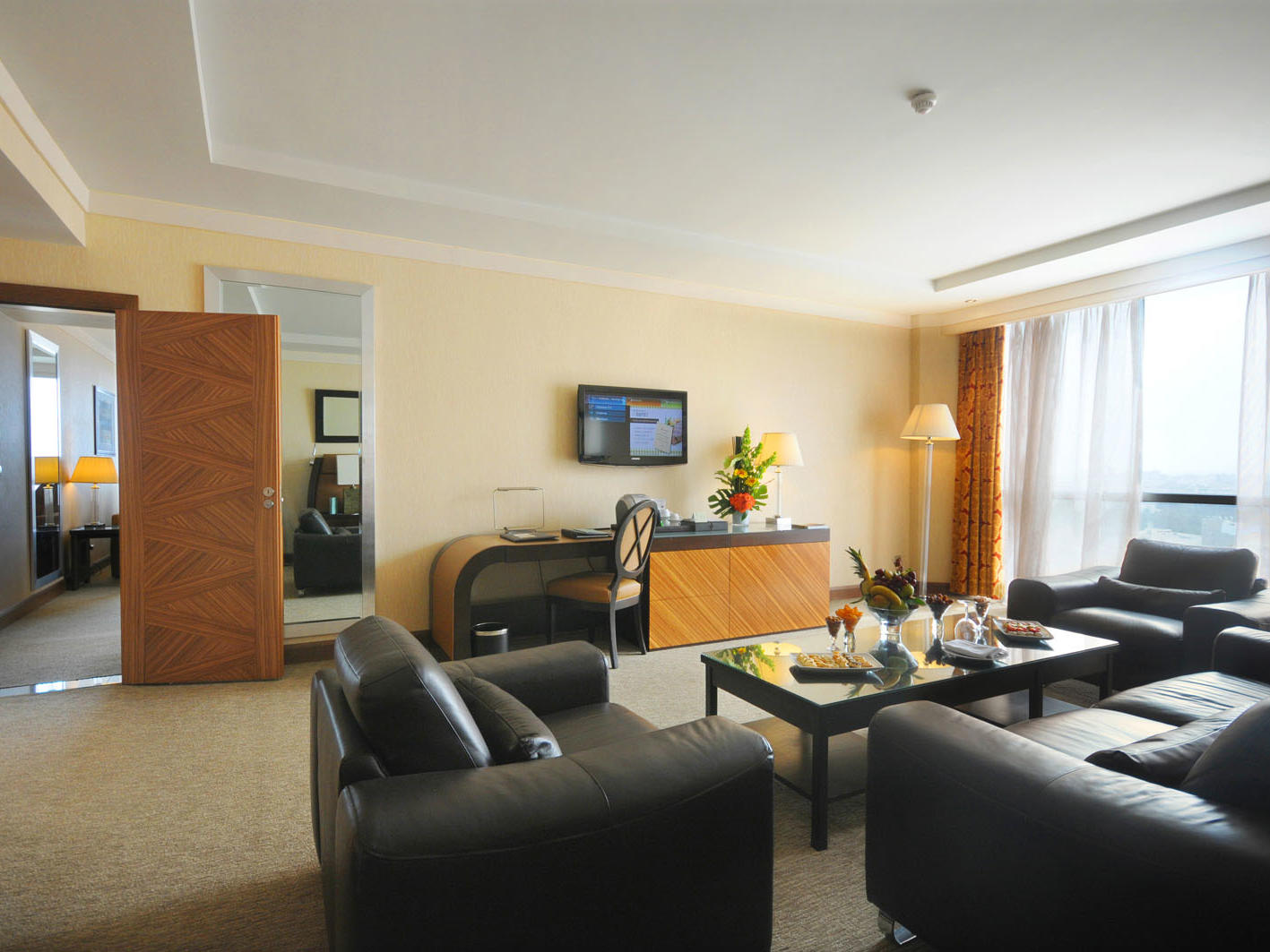 Diplomatic Suite at Kenzi Tower Hotel in Casablanca, Morocco
