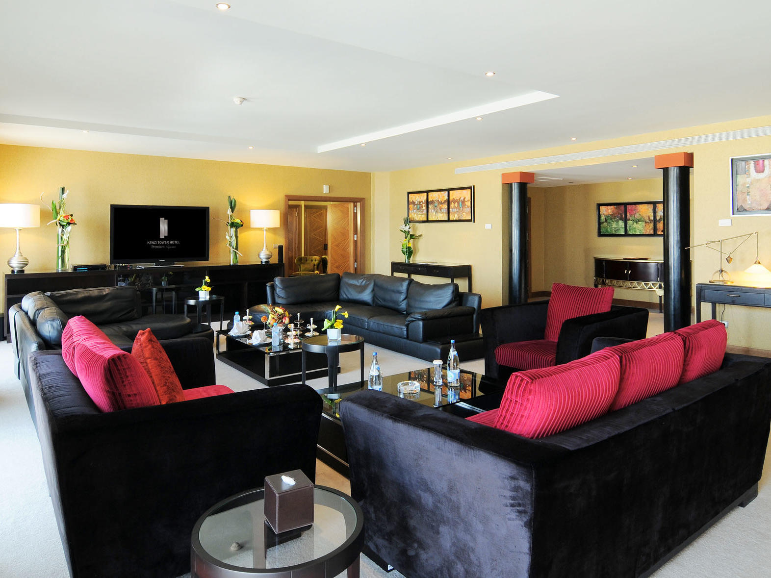 Royal Suite at Kenzi Tower Hotel in Casablanca, Morocco