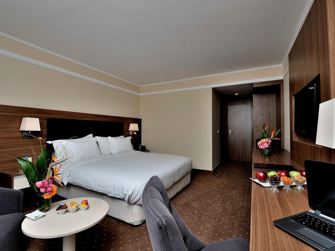 Deluxe Room at Kenzi Basma Hotel in Casablanca, Morocco