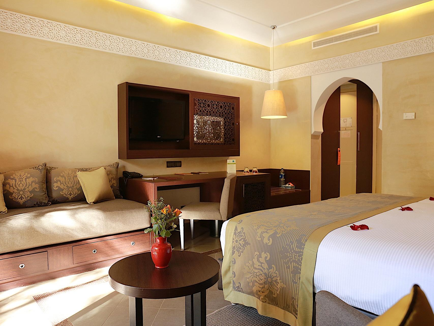 Deluxe Double Room at Kenzi Club Agdal Medina Hotel in Marrakesh, Morocco