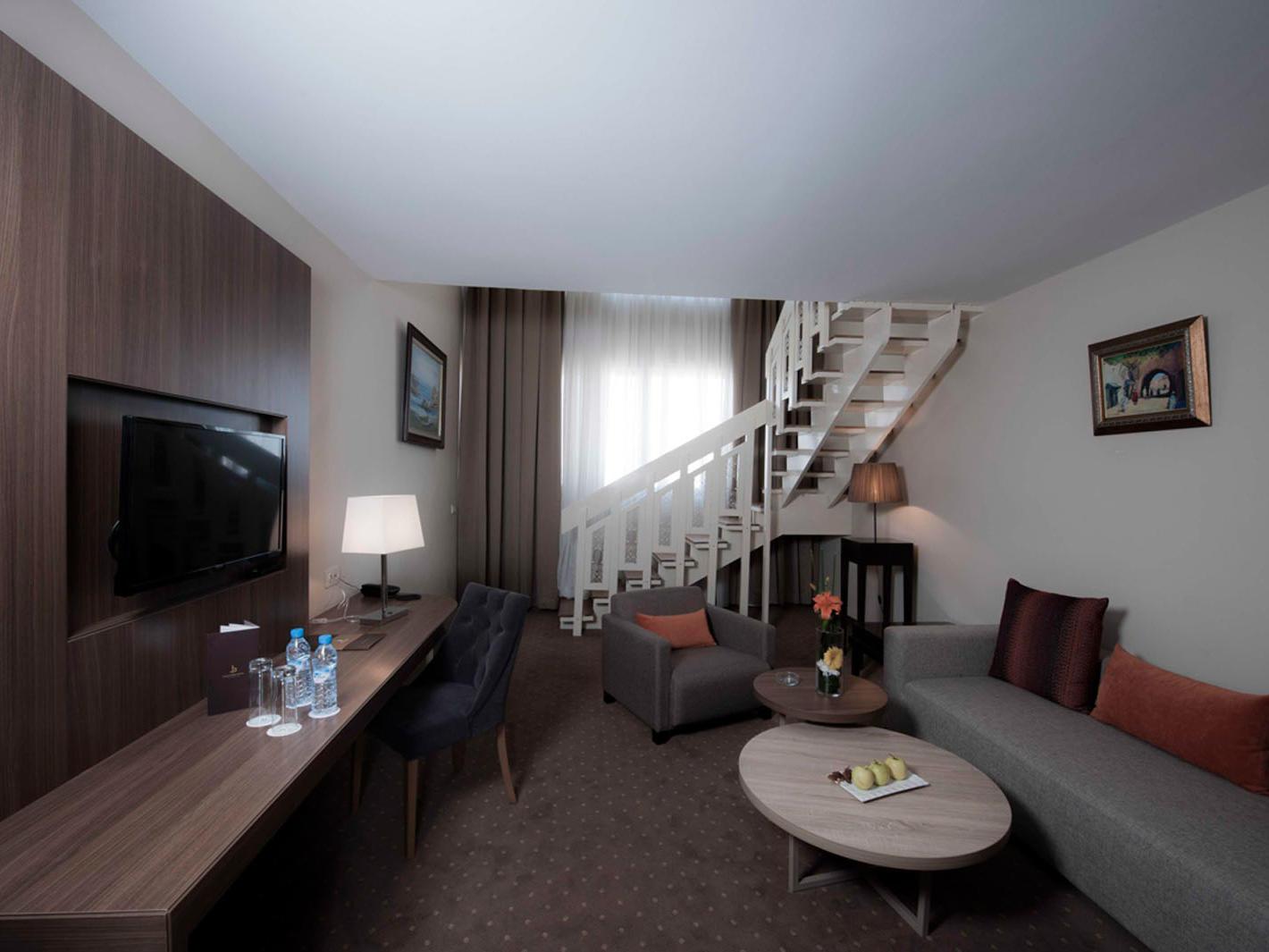 Duplex Suite at Kenzi Basma Hotel in Casablanca, Morocco