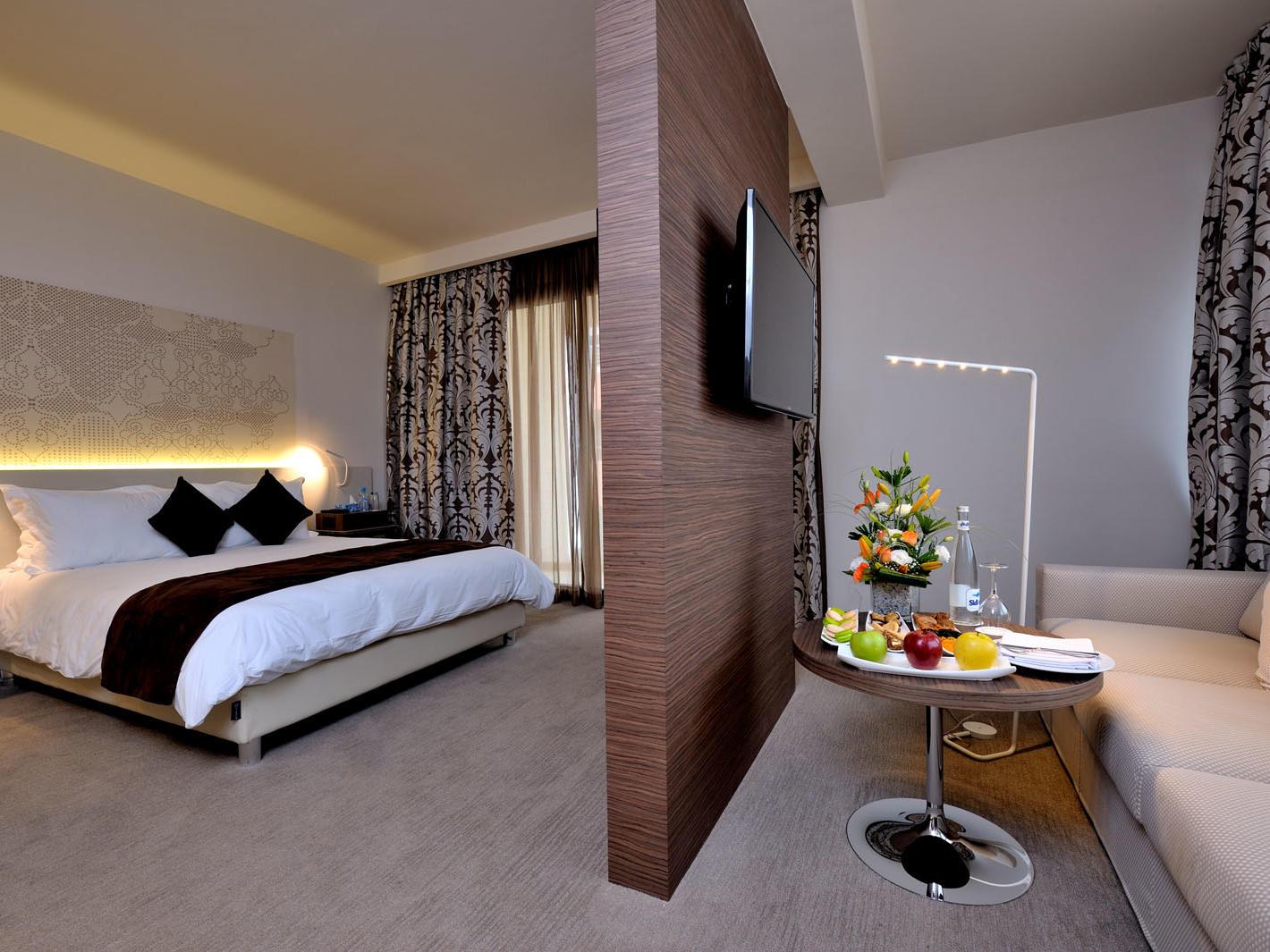 Junior Suite at Kenzi Sidi Maarouf Hotel in Casablanca, Morocco