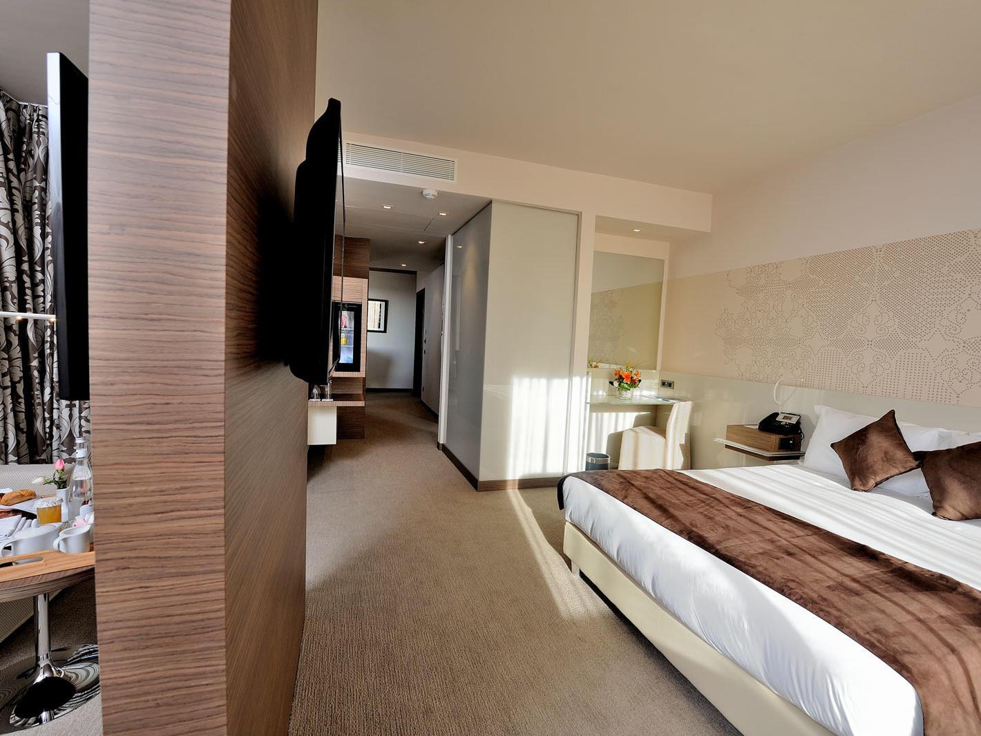 Senior Suite at Kenzi Sidi Maarouf Hotel in Casablanca, Morocco