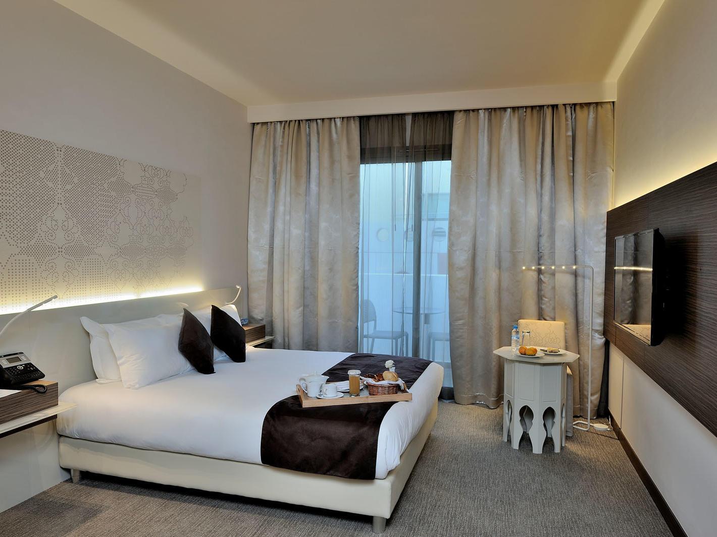 Superior Room at Kenzi Sidi Maarouf Hotel in Casablanca, Morocco