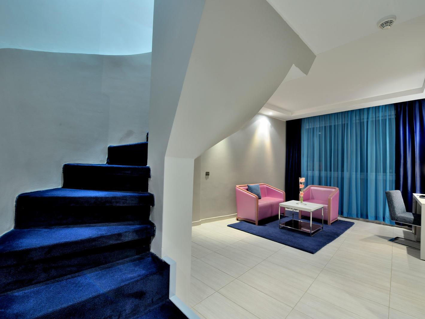 Duplex at Kenzi Solazur Hotel in Tangier, Morocco