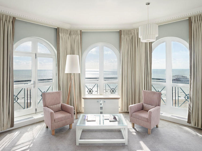Deluxe Seaview Room at The Grand Brighton