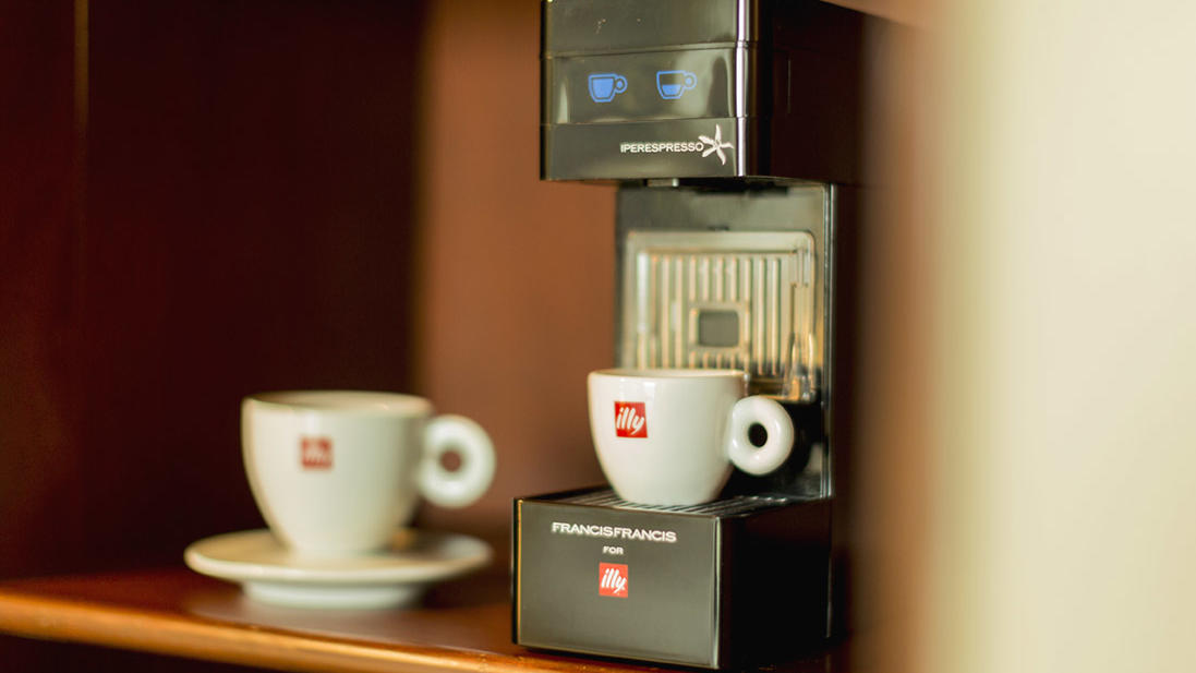 Superior Plus room - illy coffee maker