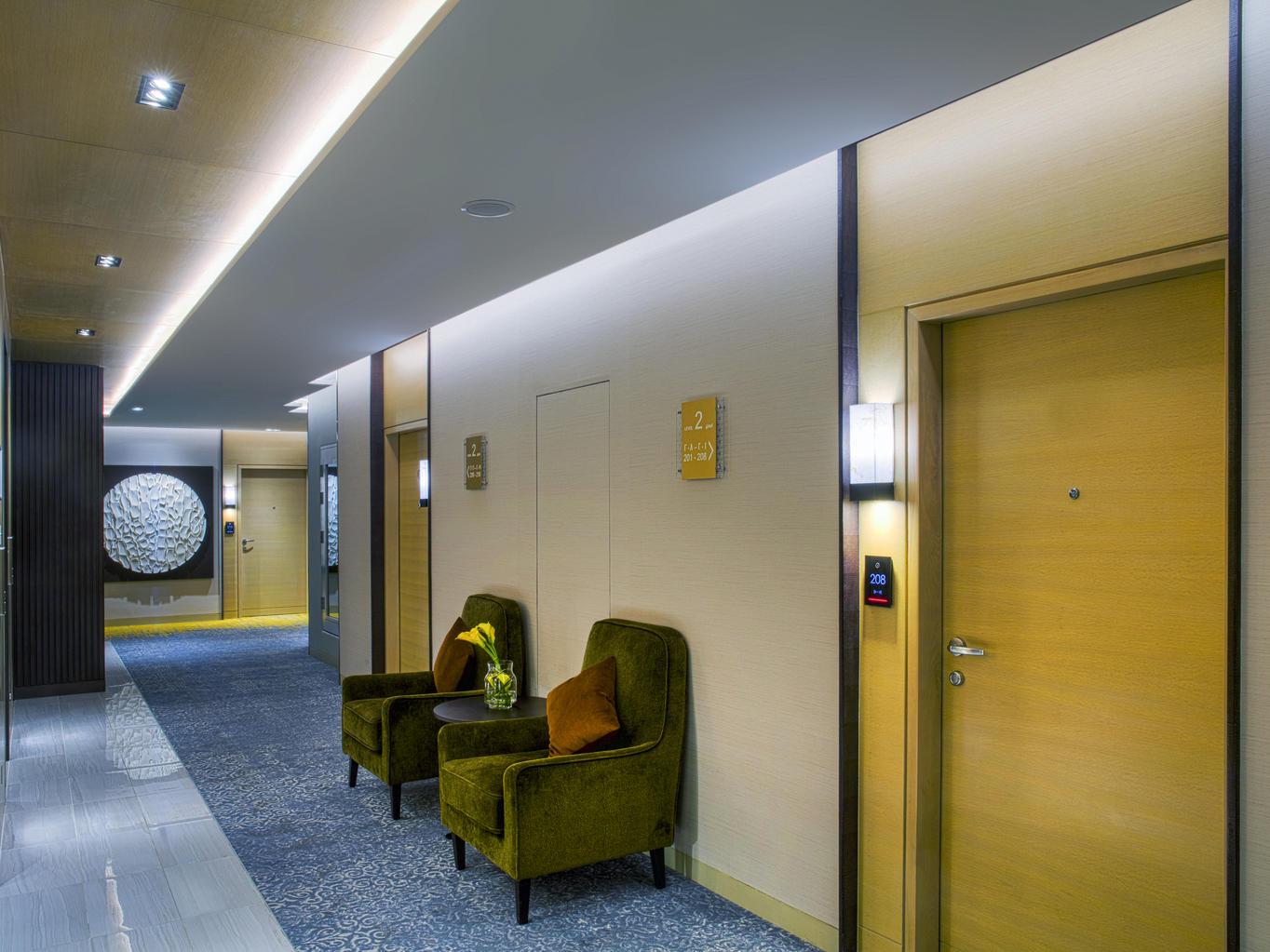 Corridor at Grayton Hotel Dubai