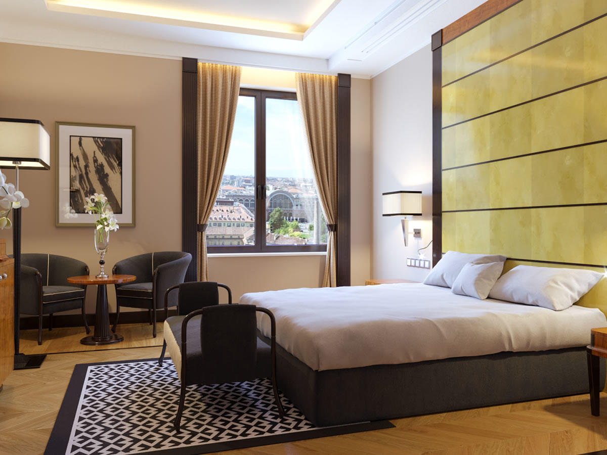 Deluxe Room with View   Principi Di Piemonte