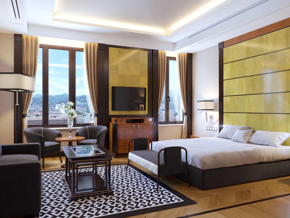 Junior Suite with View   Principi Di Piemonte