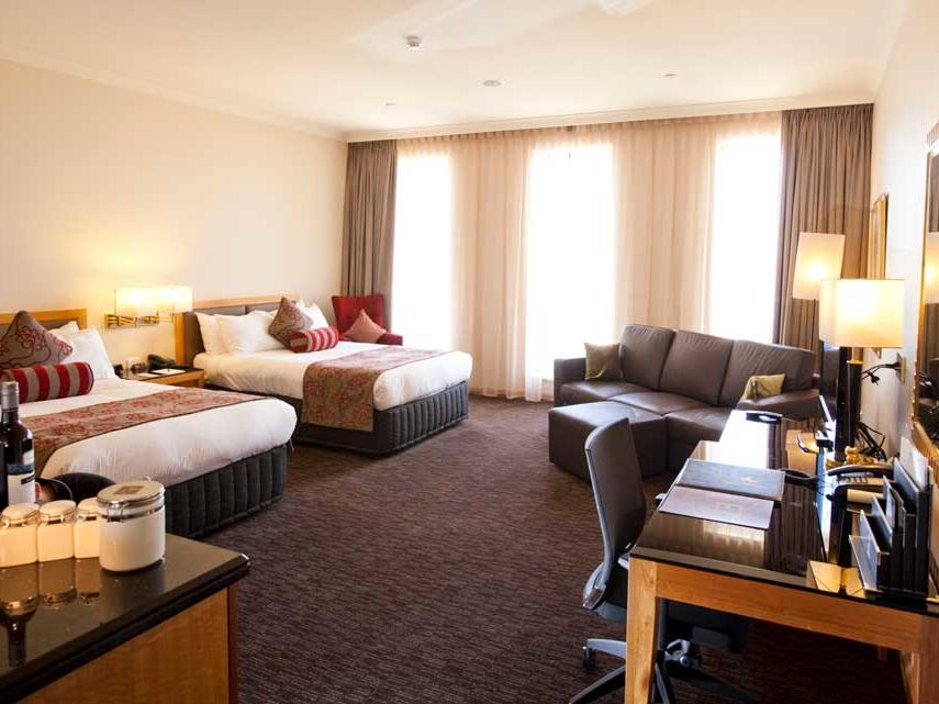 Club Twin Room with River View at Duxton Hotel Perth
