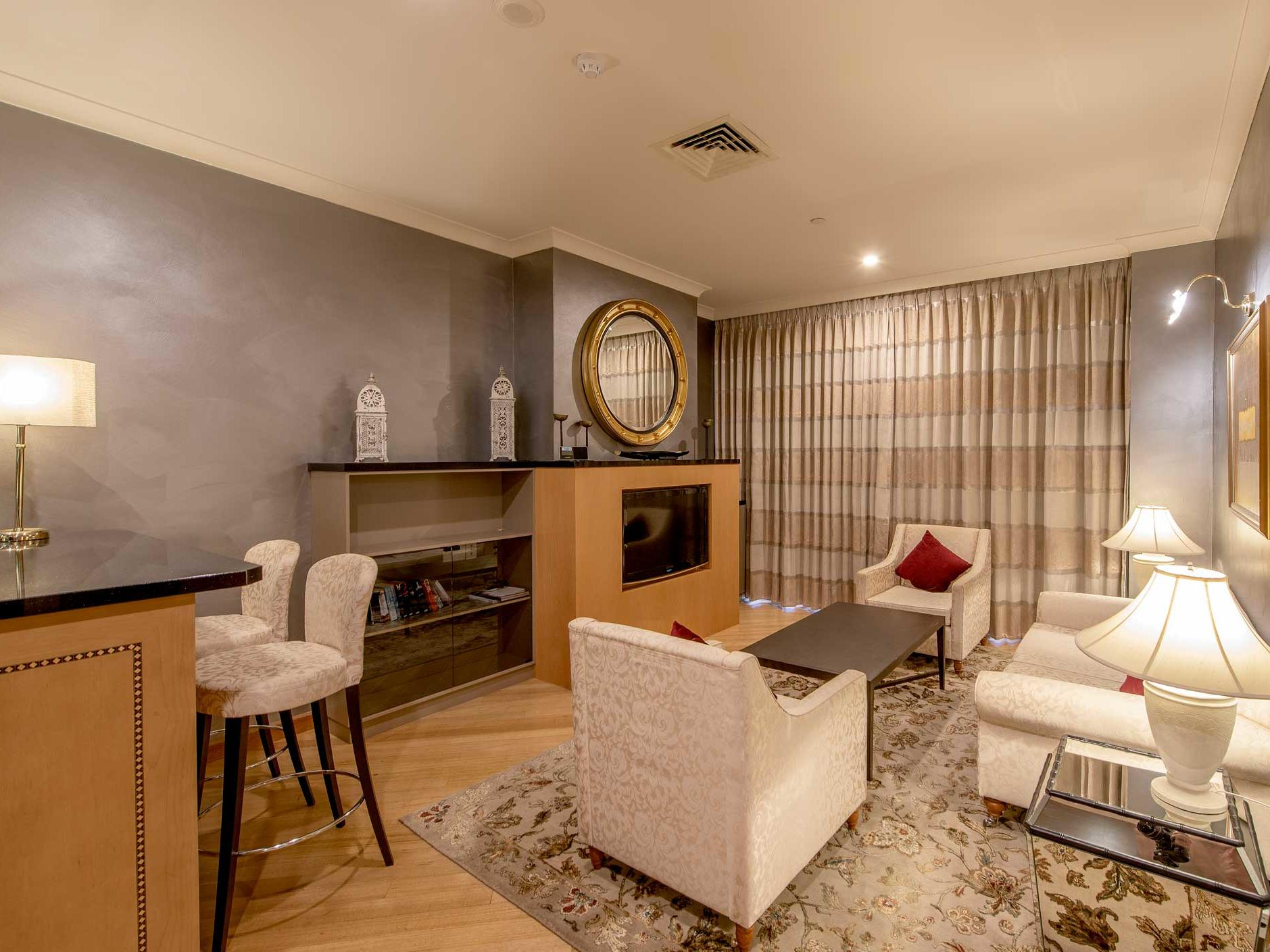 Presidential Suite at Duxton Hotel Perth