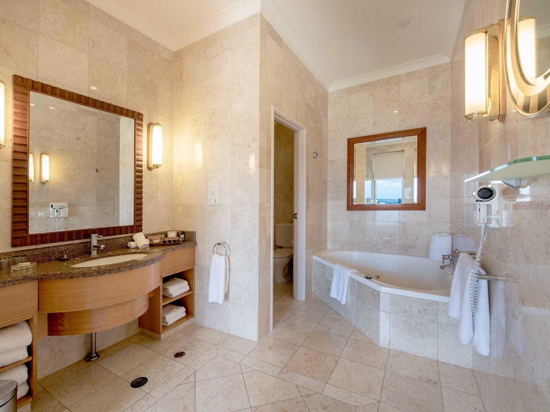 Bathroom of Presidential Suite at Duxton Hotel Perth