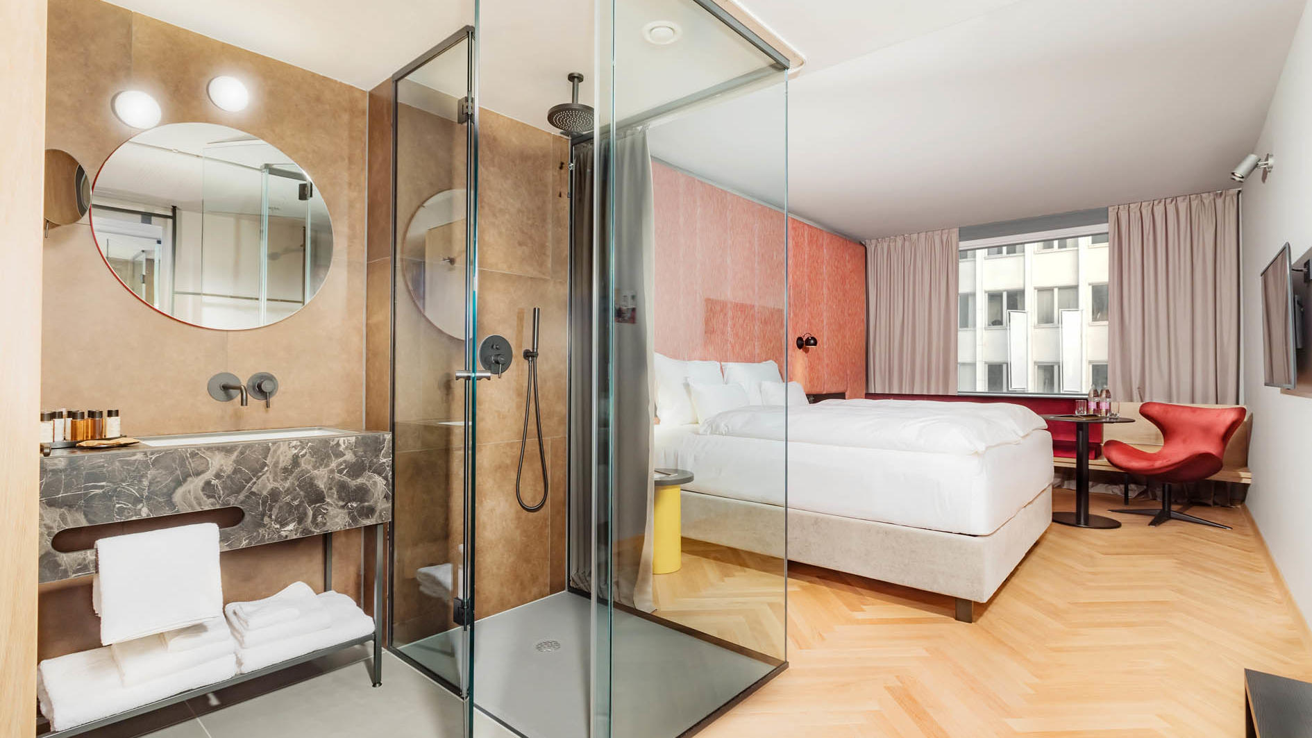 Premier double rooms at Hotel Lev in Ljubljana