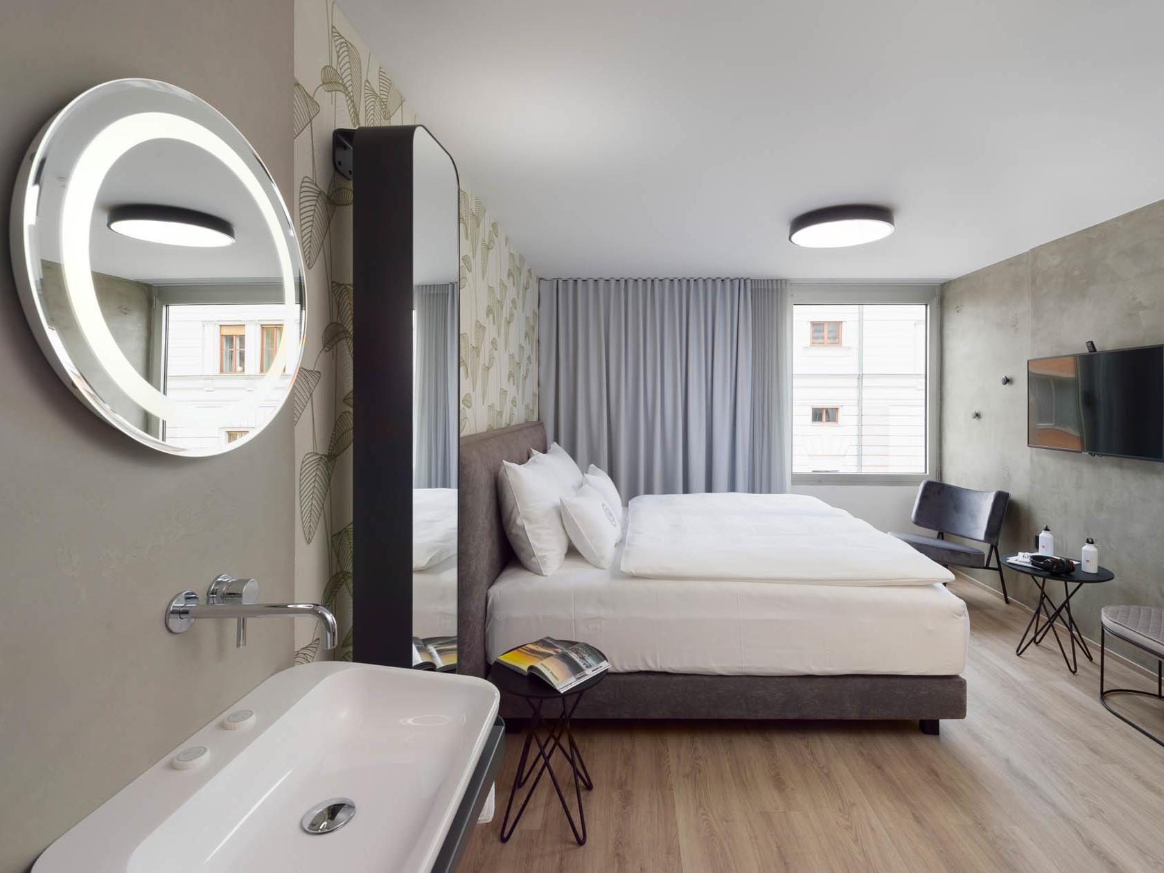 Roomy Double Room at Central Hotel in Ljubljana