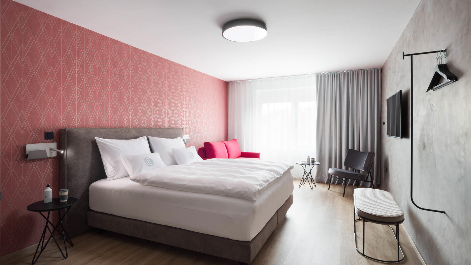 Spacious Double Room at Central Hotel in Ljubljana