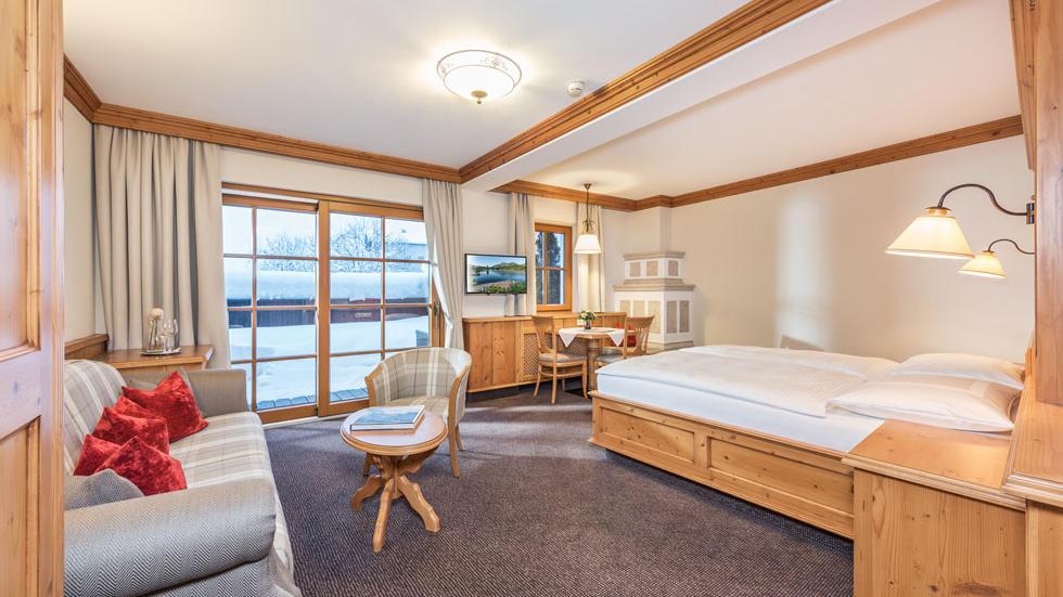 Junior Suite at Gasthof Eggerwirt Hotel in Kitzbühel, Austria