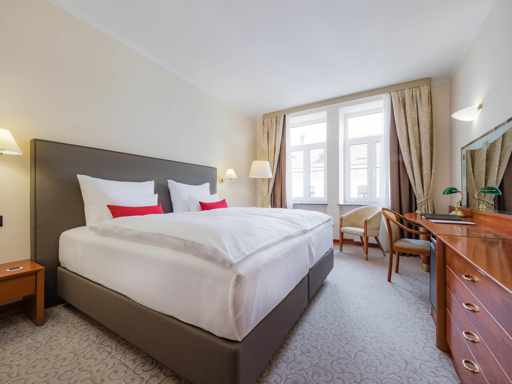 Comfort Double Room at Grand Hotel Union in Ljubljana