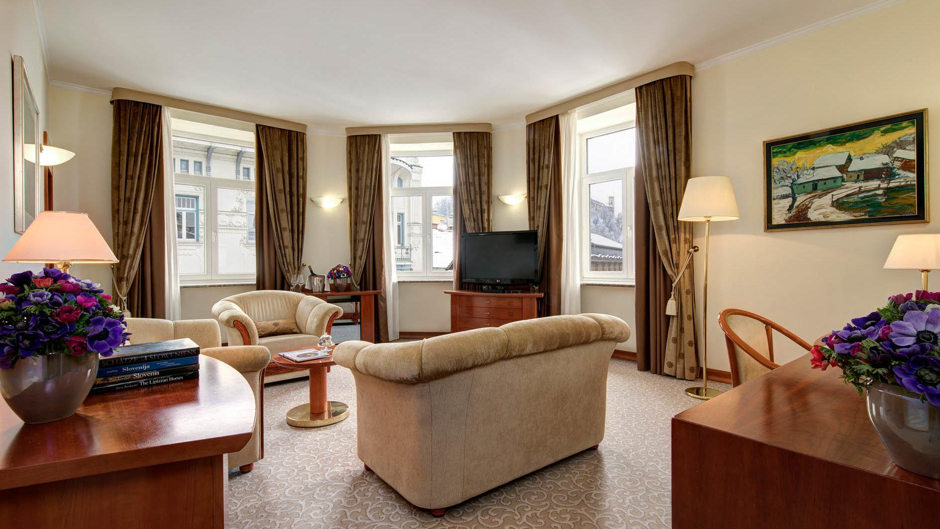 Presidential Suite at Grand Hotel Union in Ljubljana