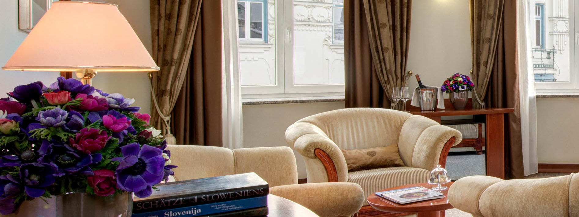 Royal Suite Room at Grand Hotel Union in Ljubljana