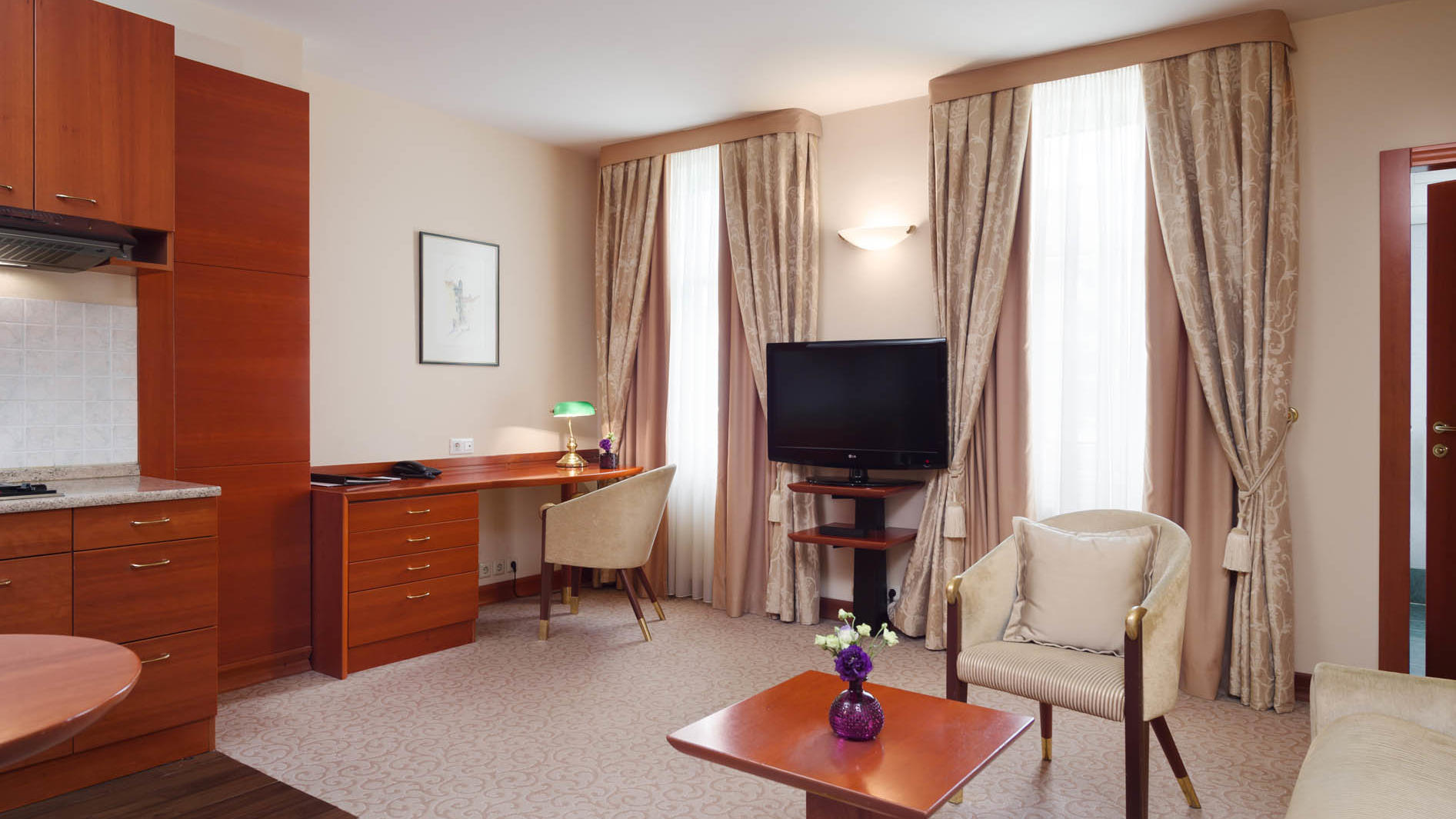 Studio Apartment at Grand Hotel Union in Ljubljana