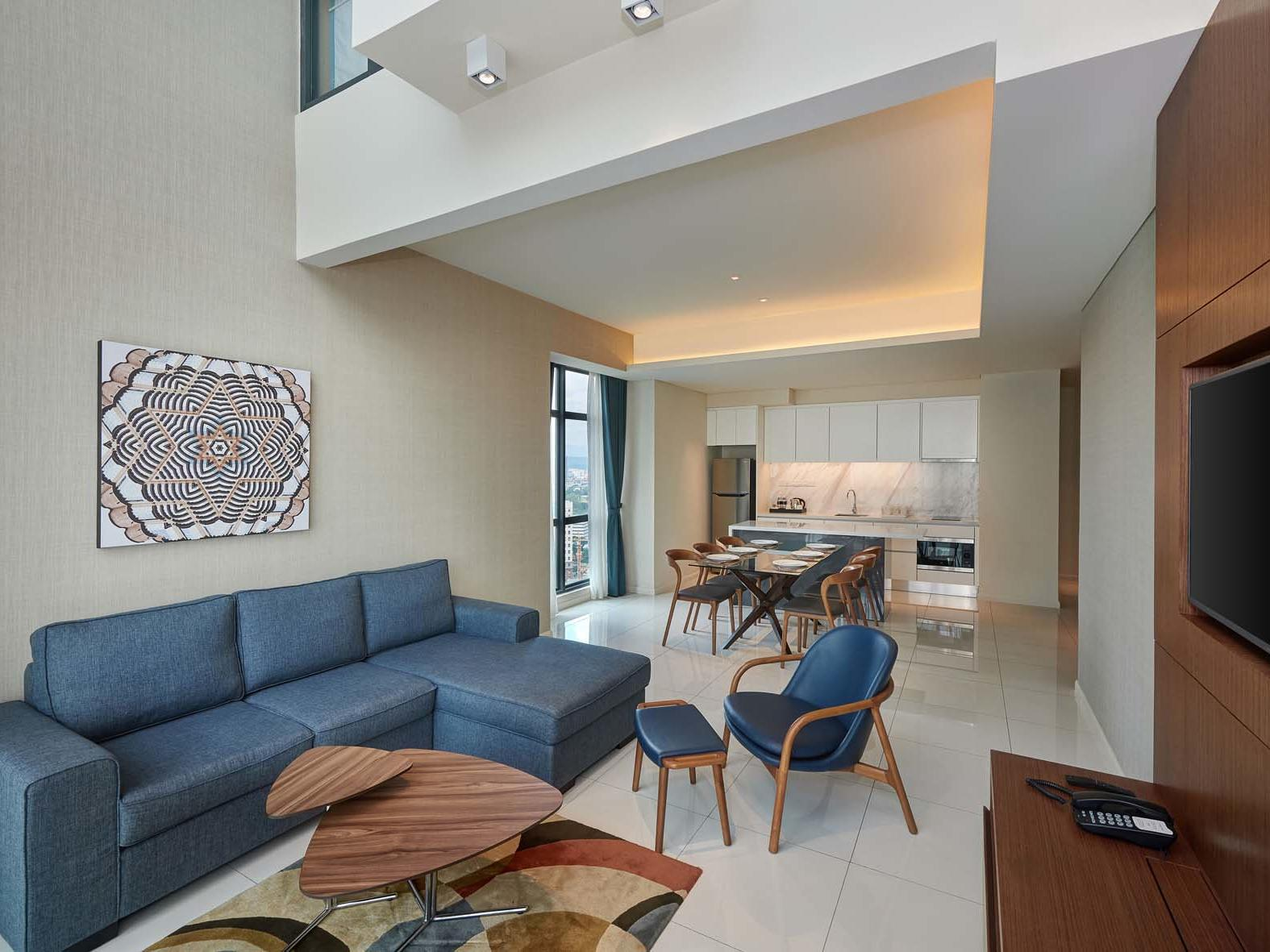 Pinnacle Suite at Tribeca Serviced Apartments in Jalan Imbi, Kuala Lumpur