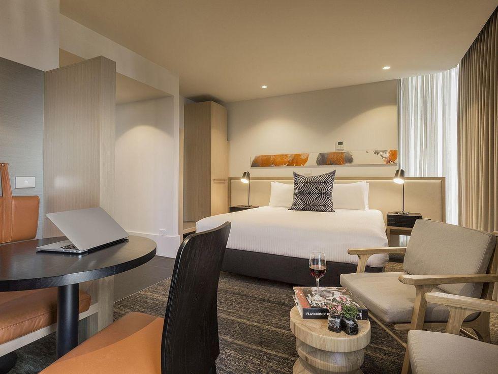 Bedroom at Brady Hotels Central Melbourne