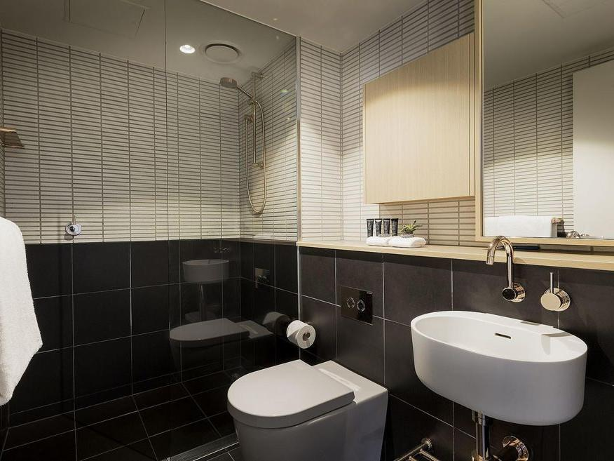 Bathroom at Brady Hotels Central Melbourne