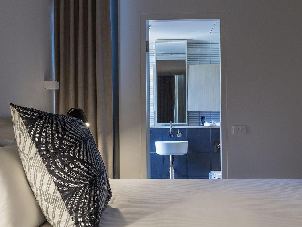 Bed detail at Brady Hotels Central Melbourne