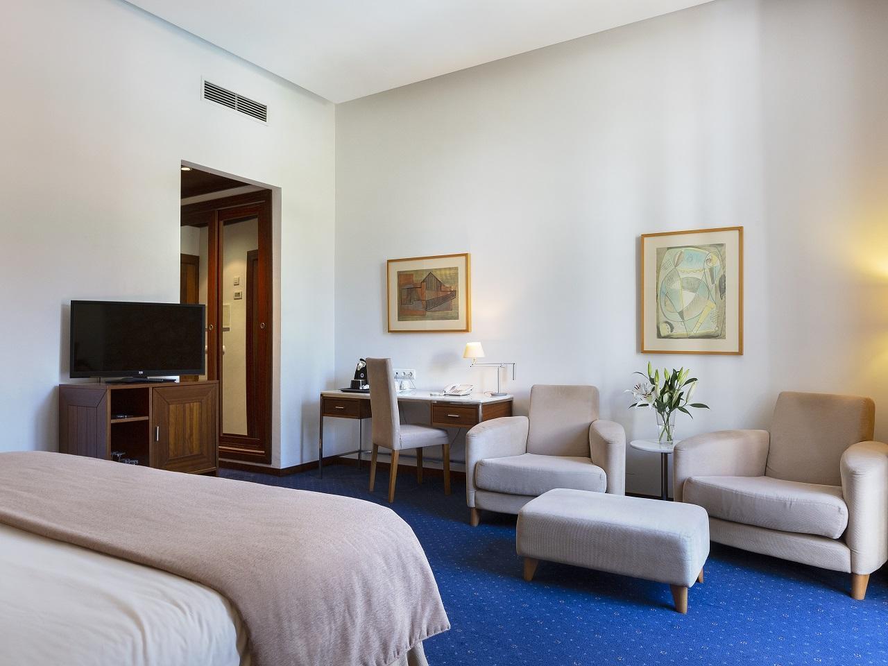 Double deluxe room at Gran Hotel Sóller in Sóller, Majorca