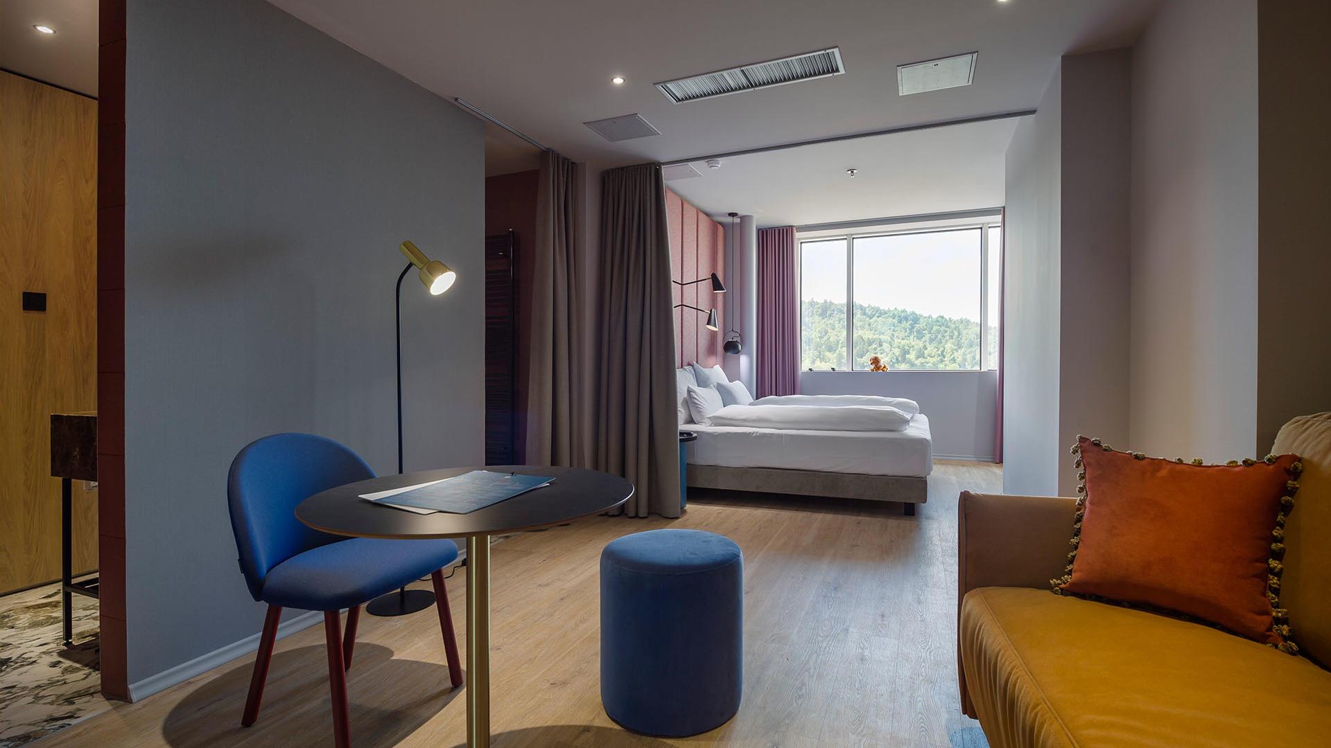 Premier Suite at Hotel LEV in Ljubljana