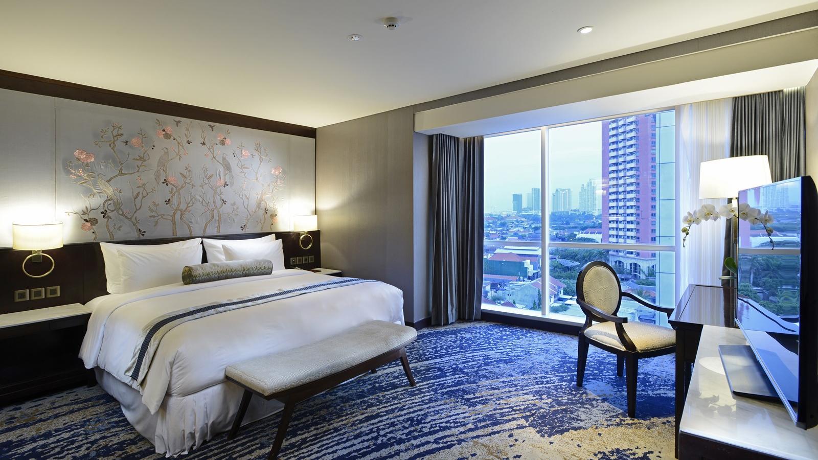 Bedroom of Breccia Suite