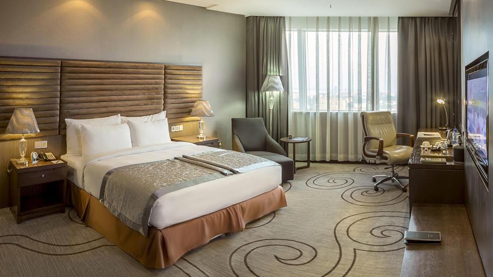 Urban Superior Room at Fleuve Congo Hotel Hotel in Kinshasa