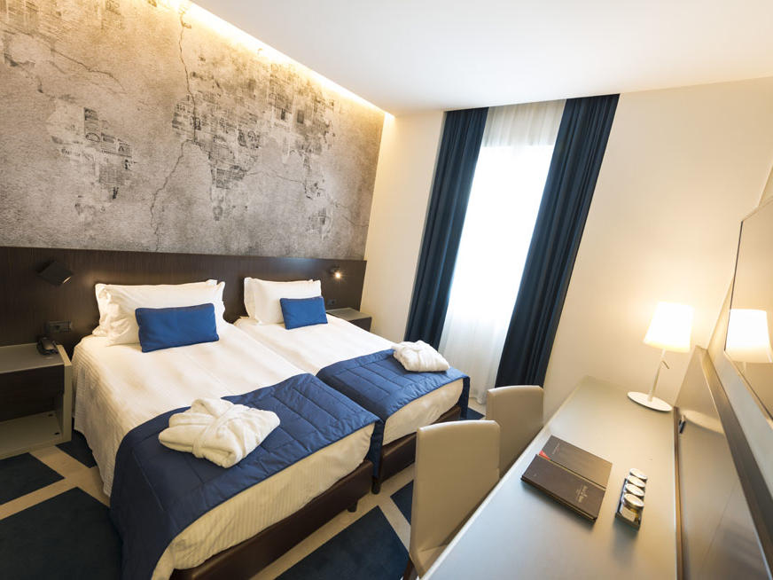 Deluxe Room at Manin Hotel Milano