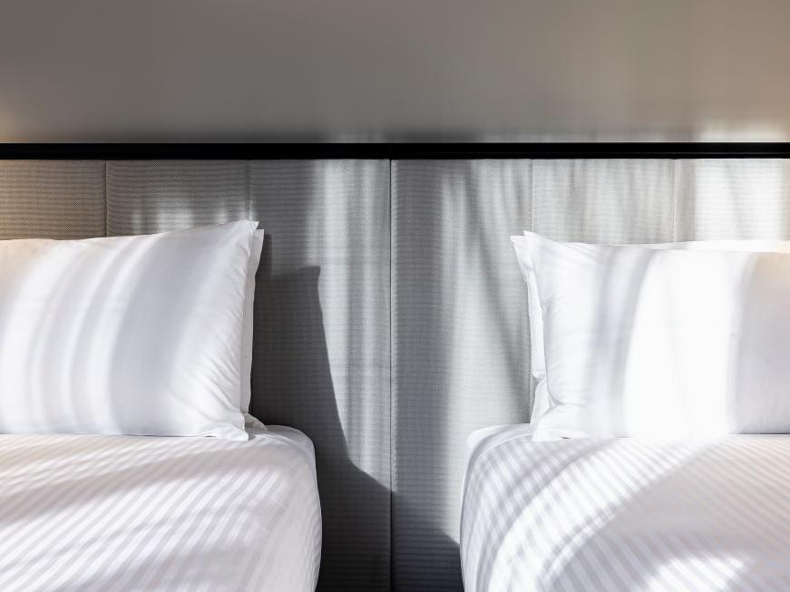 Brady Jones Lane twin bed close up